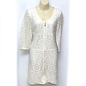 Laundry by Shelli Segal Lace 3/4 Sleeve Dress Sz.6